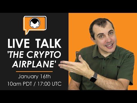 Live Talk: The Crypto Airplane